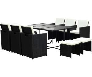 outsunny polyrattan sitzgruppe 6 st hle 4 hocker inkl kissen 27 tlg 841 162 ab 499 90. Black Bedroom Furniture Sets. Home Design Ideas