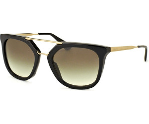 PRADA Prada Damen Sonnenbrille »CINEMA PR 13QS«, braun, DHO4S2 - braun/braun