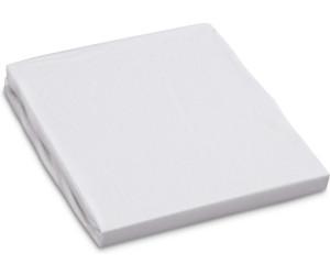 BabyBay La Housse en jersey maxi de drap-housse blanc