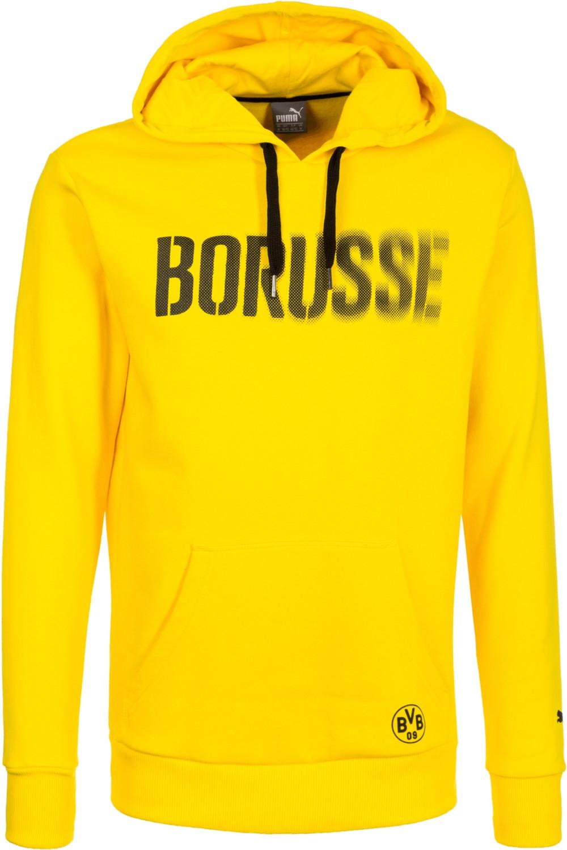 Puma BVB Pullover Graphic Fleece Hoodie