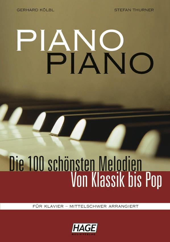 Hage Musikverlag Piano Piano 1 mittelschwer