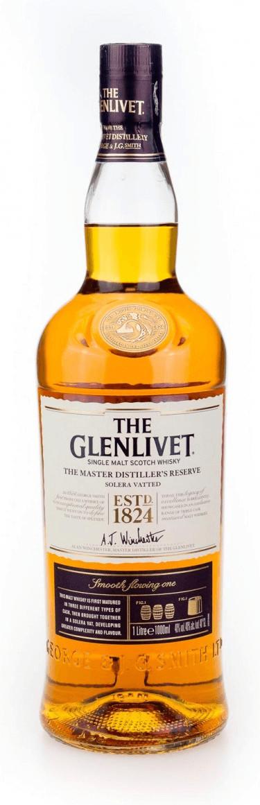 The Glenlivet Master Distiller's Reserve Solera Vatted 1l 40%