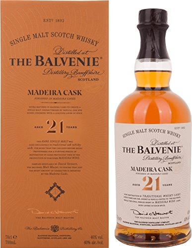 The Balvenie 21 Jahre Madeira Cask Finish 0,7l 40%