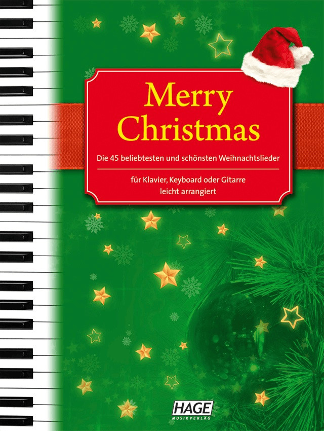 *Hage Musikverlag Merry Christmas*