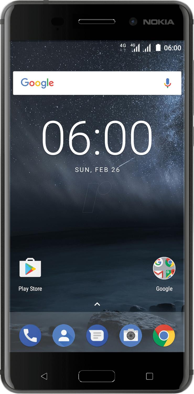 Nokia 6 32GB mattes schwarz