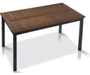Gartentisch holz metall  Holz-Gartentisch Preisvergleich | Günstig bei idealo kaufen