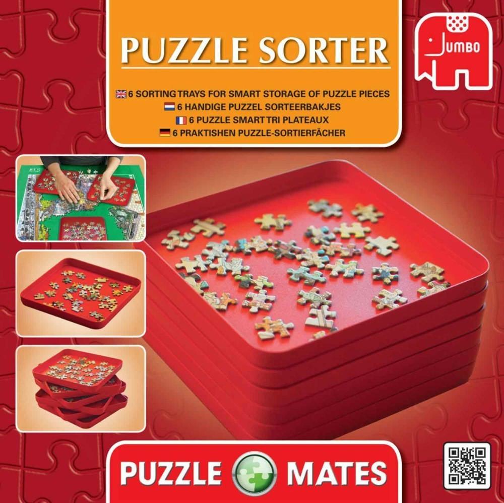 Stackable Sorters Puzzles Geduldspiel Sortierfächer Spiel Deutsch 2016