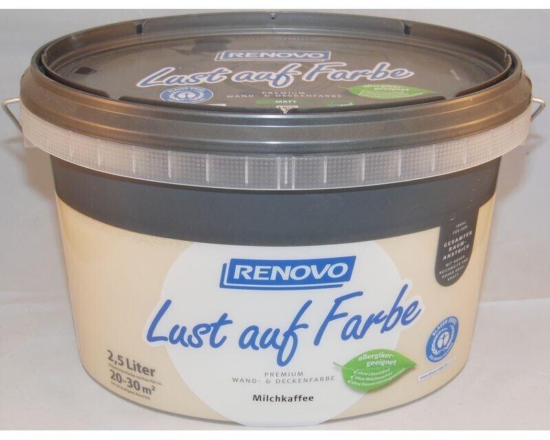 Renovo Wandfarbe Milchkaffee matt 2,5 l