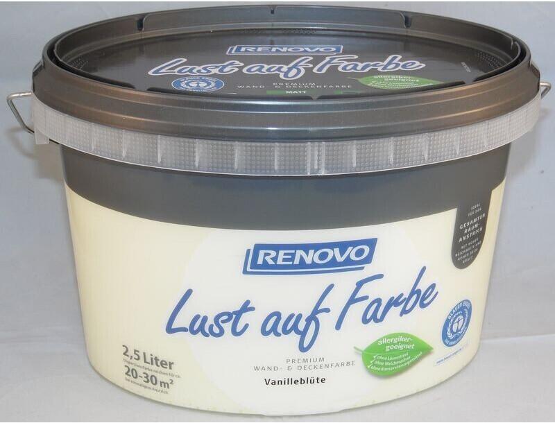 Renovo Wandfarbe Vanilleblüte matt 2,5 l
