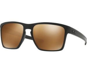 Oakley Herren Sonnenbrille Sliver Xl 934113, Schwarz (Matte Black/Prizmsapphirepolarized), 57