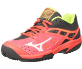 best loved d0416 ce6bb Mizuno Wave Break Shot Ex CC Women fiery coral white safety yellow
