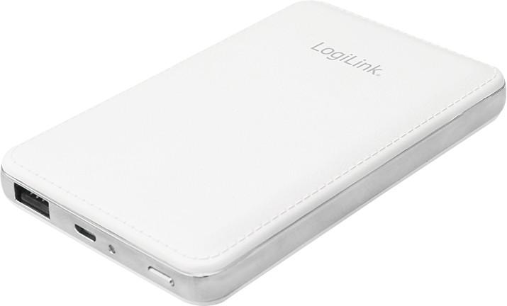 LogiLink Powerbank 8000 mAh weiß