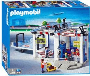 Playmobil Flughafen Verkehrsflughafen (4311)