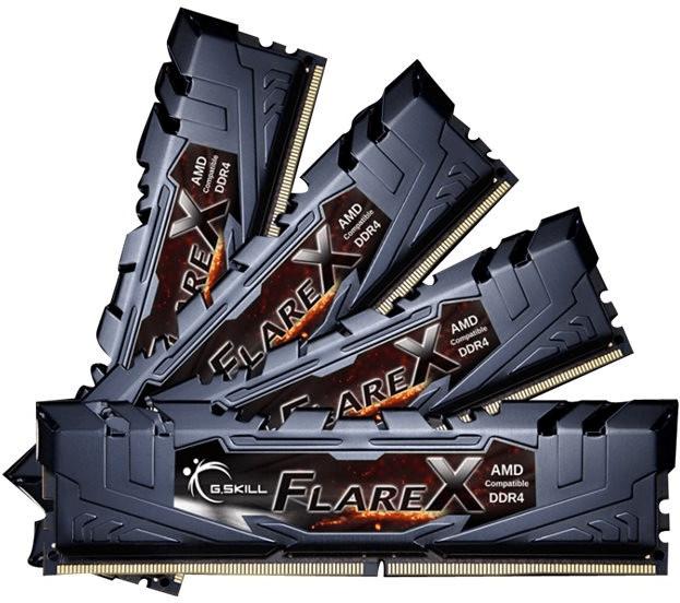 G.SKill Flare X 64GB Kit DDR4-2400 CL15 (F4-240...