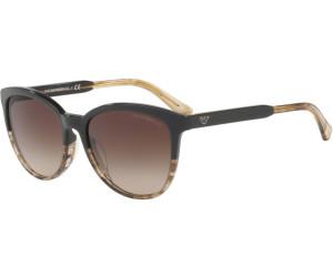 Emporio Armani EA4101 5567/13 (brown-transparent striped brown/brown gradient)