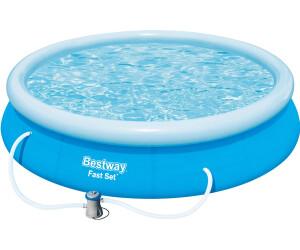 bestway fast set pool 366 x 76 cm ab 44 68 preisvergleich bei. Black Bedroom Furniture Sets. Home Design Ideas