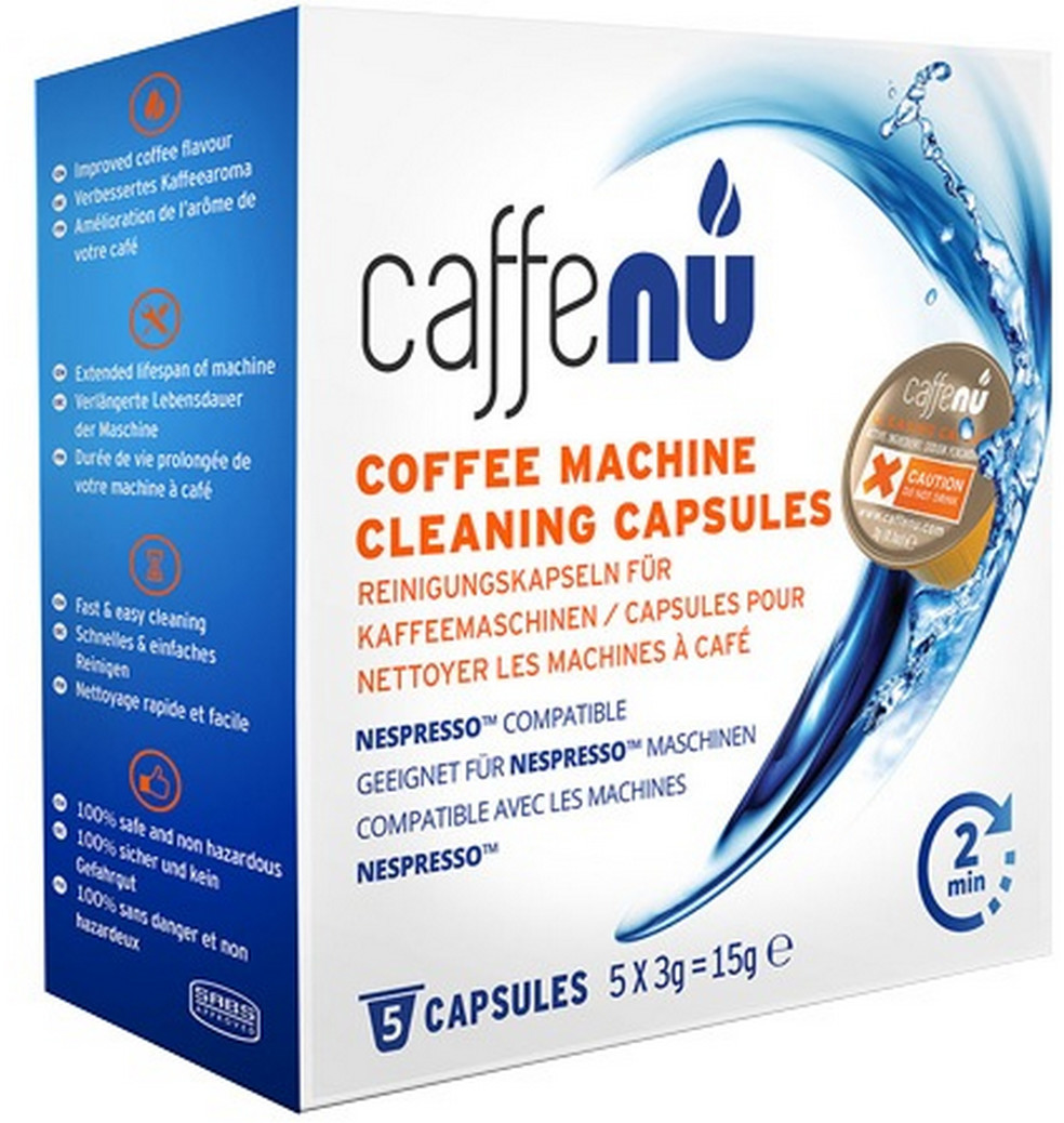 Image of Caffenu Coffee Machine Cleaning Capsules