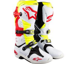 vendita più calda codice promozionale comprare on line Alpinestars Tech 10 Boot white/red/yellow a € 384,96 ...