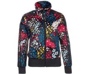 Adidas Firebird Jacke Damen Allover-Flowerprint multicolor ...