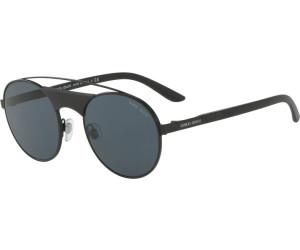 Giorgio Armani Herren Sonnenbrille » AR6047«, schwarz, 300187 - schwarz/grau
