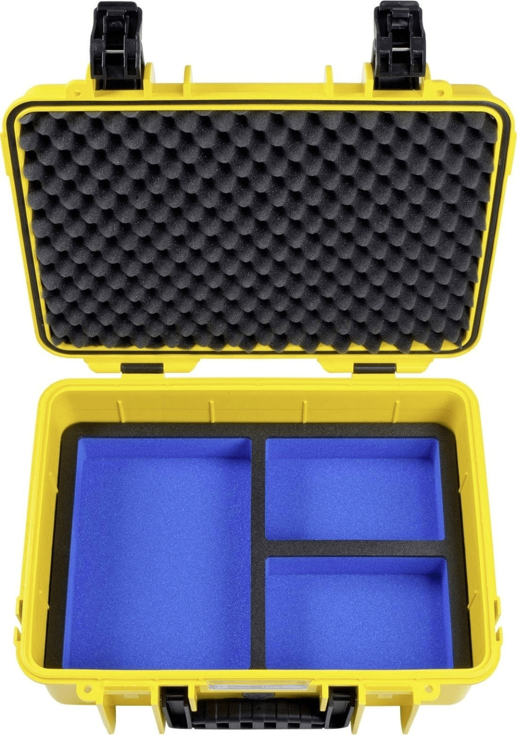 Image of B&W Outdoor Case Typ 4000 incl. GoPro 5 Inlay Yellow