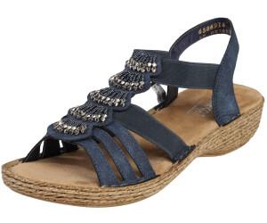 Rieker Sandale (65869) blau ab 34,99 € | Preisvergleich bei
