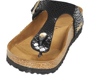 birkenstock gizeh birko flor snake black ab 54 00. Black Bedroom Furniture Sets. Home Design Ideas
