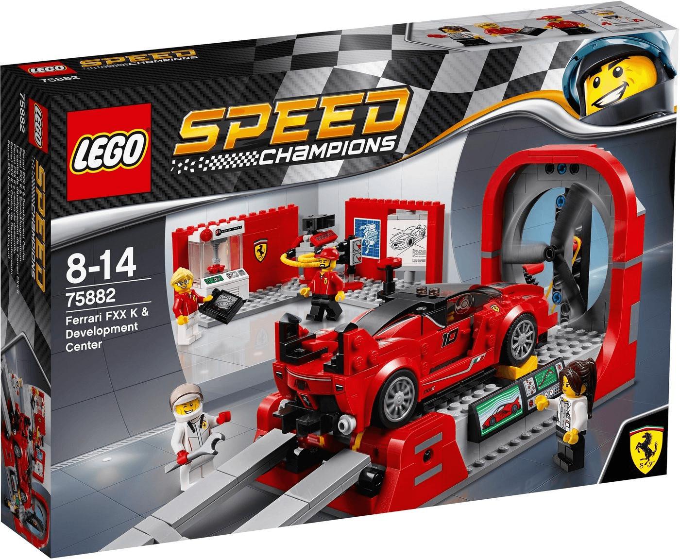 LEGO Speed Champions - Ferrari FXX K & Entwicklungszentrum (75882)