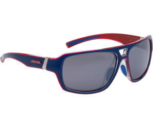 Alpina Sport Style Yuko Sonnenbrille, Blue-Red Transparent
