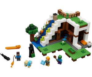 Lego Sous Cascade21134Au La Minecraft Meilleur Prix Base XOkiPuZ