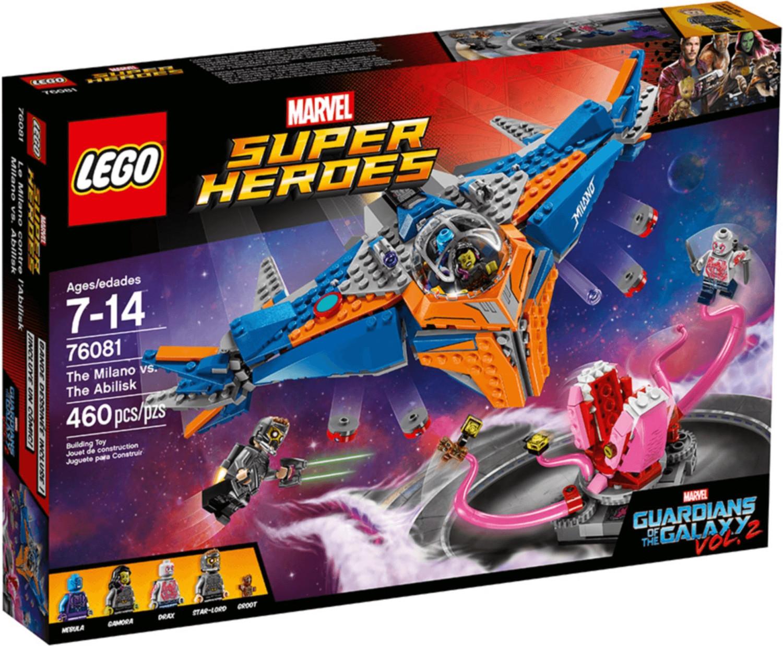 LEGO Marvel Super Heroes - Die Milano gegen den Abilisk (76081)