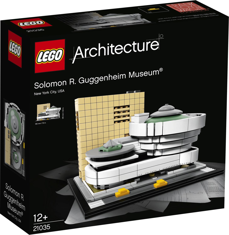 LEGO Architecture - Musée Solomon R. Guggenheim (21035)