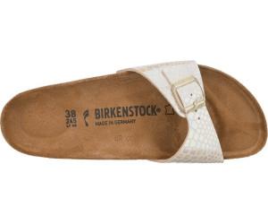 Birkenstock Madrid Birko Flor Shiny Snake cream ab 43,23