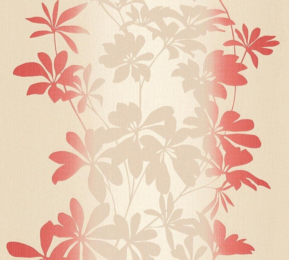 A.S. Creation Fiore beige metallic rot 10,05mx0,53m (325844)