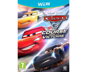 cars 3 course vers la victoire wii u au meilleur prix sur. Black Bedroom Furniture Sets. Home Design Ideas