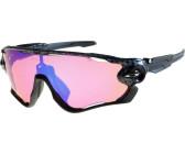 Oakley Jawbreaker Prizm Sonnenbrille (für schwache Lichtverhältnisse) - Sonnenbrillen - Performance Polished White One Size mR918y57