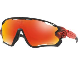 Oakley Herren Sonnenbrille Jawbreaker 929023, Rot (Ruby Fade/Prizmruby), 31
