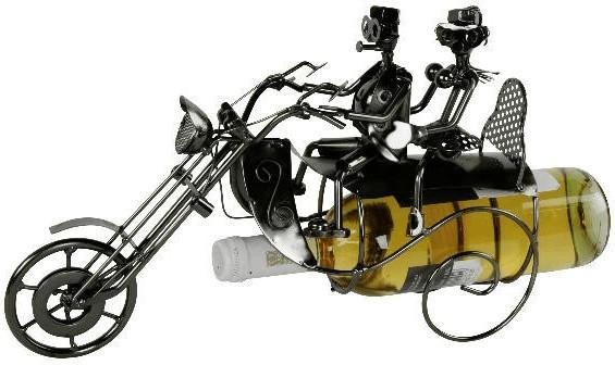 michel toys Flaschenhalter Motorrad Chopper