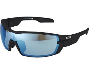 Kask KOO Sonnenbrille inkl. 2 Gläser Bluesky und Clear schwarz/hellblau 2018 Brillen UJDGs
