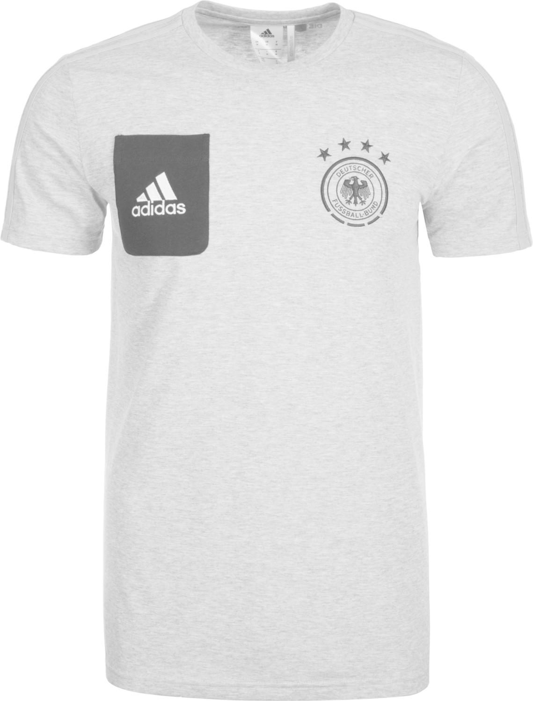 Adidas DFB Staff T-Shirt grau