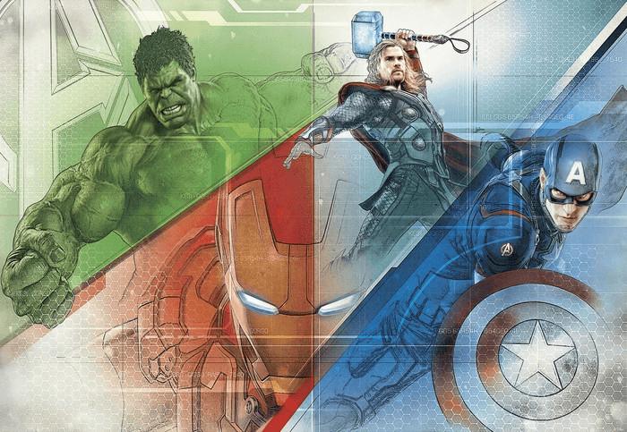 Komar Papier Avengers Graphic Art (8-456)