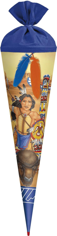 ROTH Indianer mit 2 Federn 70 cm