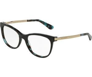 DOLCE & GABBANA Dolce & Gabbana Damen Brille » DG3234«, schwarz, 501 - schwarz