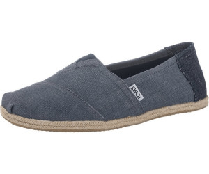734d7bc2a227 Buy Toms Shoes Classics Men deep ocean coated linen rope sole from ...