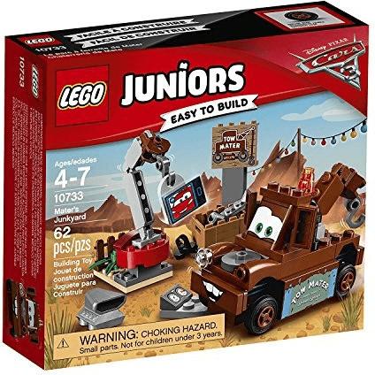 """LEGO® 10733 Juniors Cars 3 """"Hooks Schrottplatz"""" NEU & OVP"""