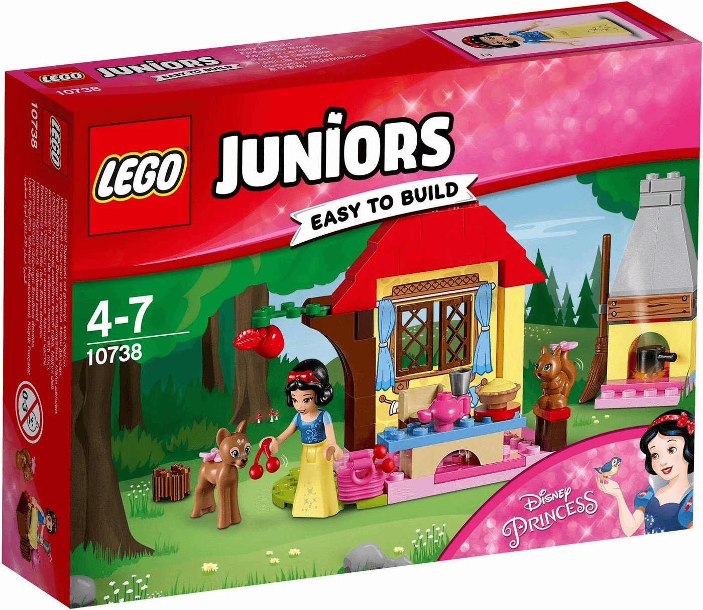 LEGO Juniors Disney Princess - Le chalet de Blanche-Neige (10738)