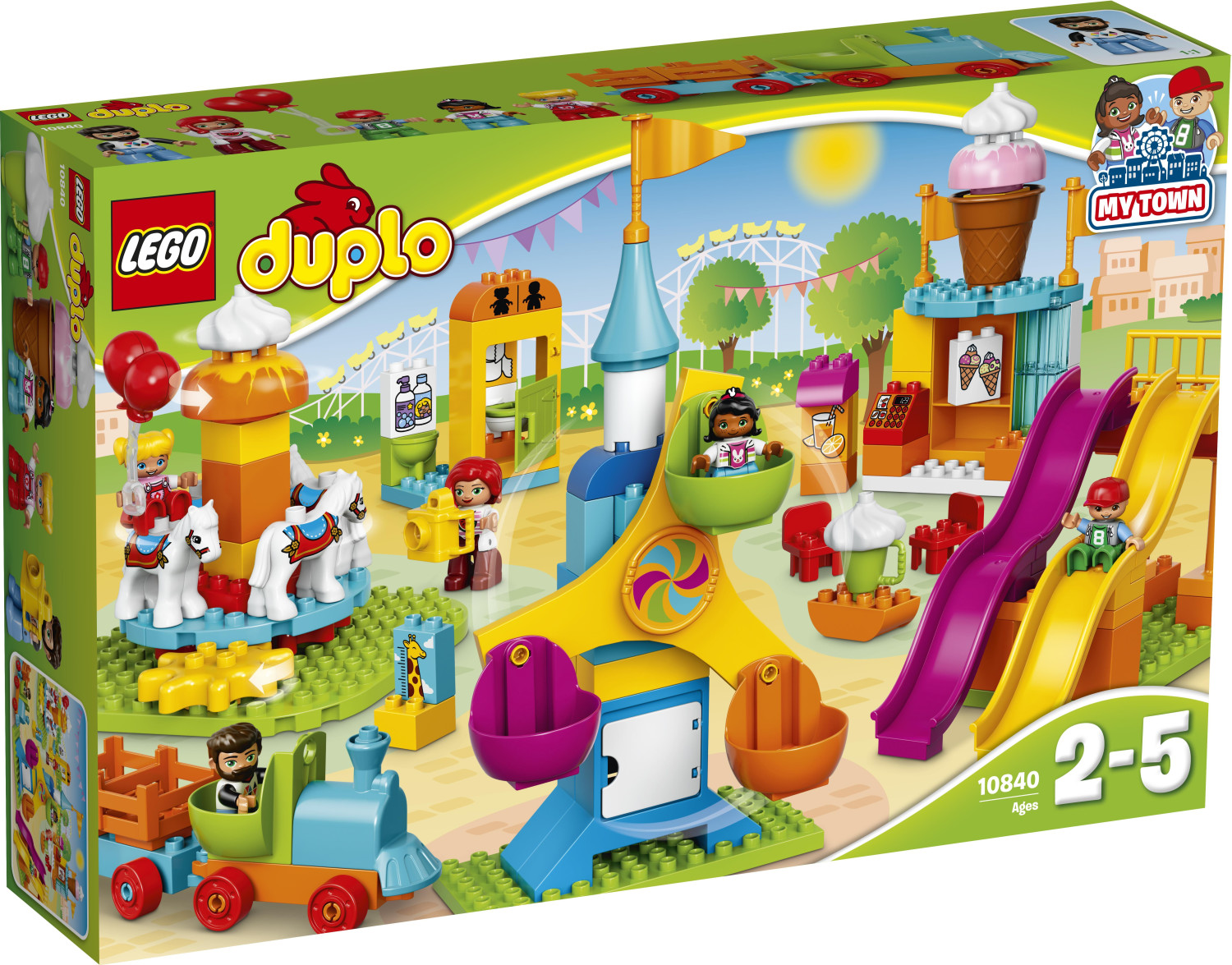 LEGO Duplo - Le parc d'attractions (10840)