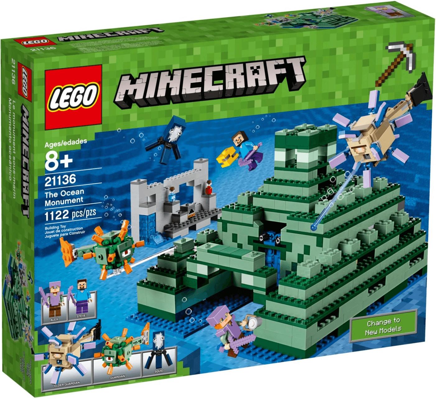LEGO Minecraft - Ozeanmonument (21136)