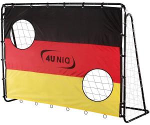 4uniq fu balltor mit torwand ab 34 99 preisvergleich bei. Black Bedroom Furniture Sets. Home Design Ideas