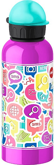 Emsa Trinkflasche Kids Chat (600 ml)
